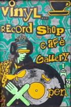 Vinyl A Board